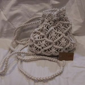 Small Rope Texture Backpack